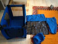portable puppy pet playpen, Pet Gear Inc brand, 36 x 36 x 26 inches, Like New
