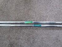 x2 Shimada wedge shafts .370 parallel