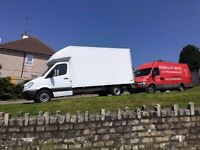 REMOVALS SERVICE-24/7-WE USE LUTON VAN WITH TAIL LIFT!MAN AND VAN-ALWAYS GOOD RATES