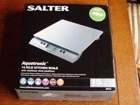 Salter Aquatronic Kitchen Scale, 10 Kg