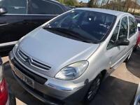 2005 Citroen XSARA Picasso Diesel. Mot. Tax. Warranty Estate. SUV
