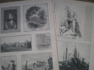 Centenary-of-the-Birth-of-Lord-Byron-1888-old-prints