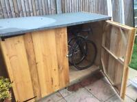 Bike shed Bin shed