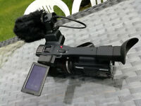 Panasonic ag-ac90 pro hd camcorder only 80hrs use!