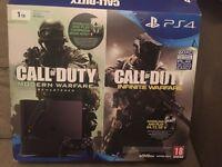 PS4 SLIM 1TB 2016 MODEL NEW PLAYSTATION 1 TERABYTE LARGE CAPACITY