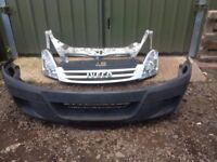 Iveco Daily 2.3 TD 2006-2010 Front END bumper slam panel headlights