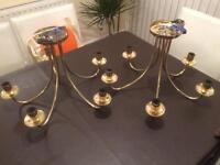Brass Ceiling lights pair - Free