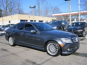 2010 Mercedes-Benz C-Class C250 4MATIC 99KM LEATHER AWD !!!AUTO