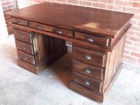 Solid Heavy Wood antique style desk
