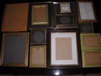 14 Assorted Photo Frames