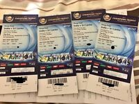 ICC champions trophy 2x SILVER INDvSRI LANKA @ OVAL SOLD OUT