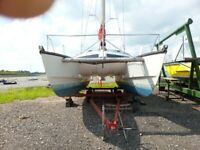 IROQUOIS MK2A 32 FOOT CATAMARAN / SAILING YACHT - Mobile Number Added