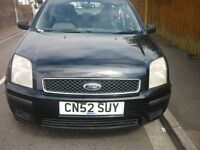 ford fusion , 5 doors , long mot , great engine and gearbox