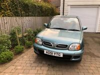 NISSAN MICRA 1.3 5DR PETROL - ONLY 47000 MILES - FULL SERVICE HISTORY - LONG MOT