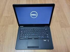 """Dell Latitude E7450 UltraBook, 14"""" Screen, Intel Core i5 5th Gen, 4GB Ram, 128GB SSD."""
