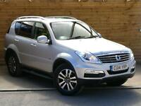 SsangYong Rexton W 2.0 EX 5dr Tip Auto ONE PRIVATE OWNER (silent silver metallic) 2014