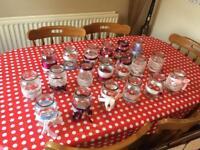 Wedding jars and ribbon