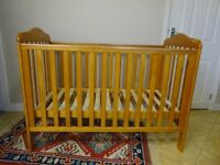 Babies'R'Us Roma Cot and Mattress