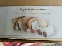 New Train Toast & Egg holder
