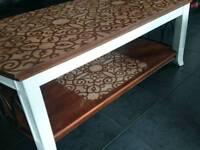 Unique Design Coffee Table and Side Unit