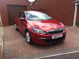 2014 Peugeot 308 1.6 HDi 92 Active