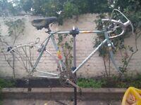 Vintage Peugeot steel frame.. Ideal singlespeed conversion
