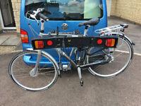 Thule 9708 4 bike carrier + accessories
