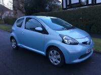 TOYOTA AYGO 1.0+ PLUS LOW MILES 62K LADY OWNED FULL SERVICE HISTORY