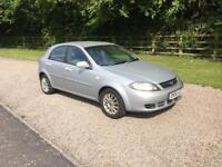 Chevrolet lacetti 1.6 se 5 door low mileage