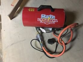Clarke Little Devil Space heater- propane