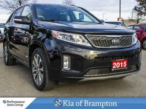 2015 Kia Sorento SX. V6. AWD. NAVI. LEATHER. CAMERA