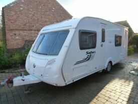 Swift 2011 Charisma 545 4 Berth Caravan with Alloy wheels Safari edition Caravan