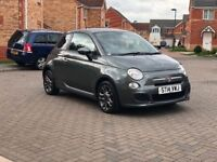 2014 FIAT 500 S (START/STOP) 12 MONTH MOT, FULL SERVICE HISTORY, LOW MILEAGE , FULL HPI CLEAR