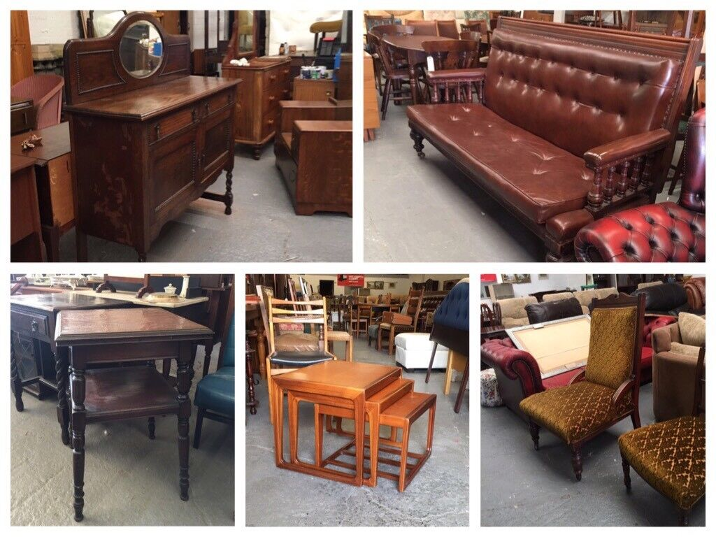 ** FURNITURE - CHAIRS, TABLES, CABINETS, SOFAS, WARDROBES, DRESSING TABLES, DRAWERS
