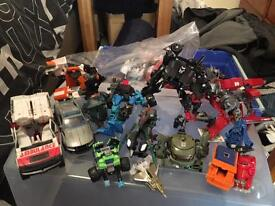 Job lot of Transformers