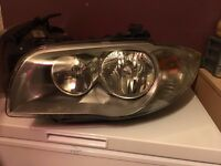 BMW 1 SERIES 2010 GINUINE OFFSIDE AND PASSENGER SIDE HEADLIGHTS AND FOG LIGHTS