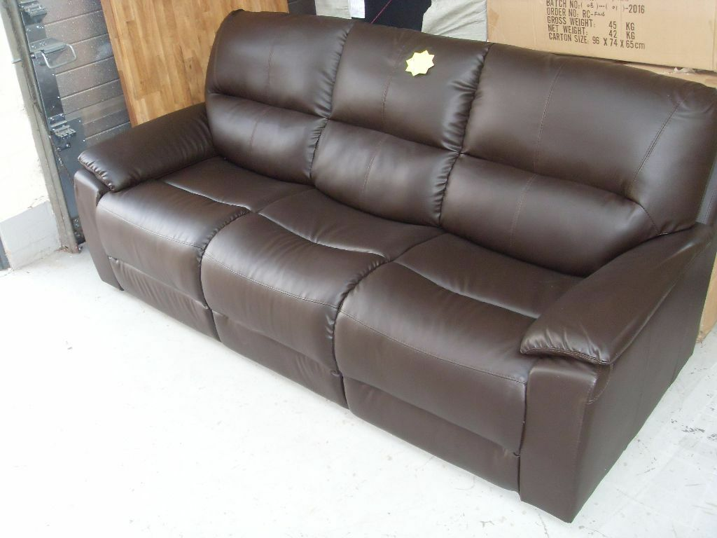 Brand New 3 Seater Leather Sofa Down From 163 499 Can