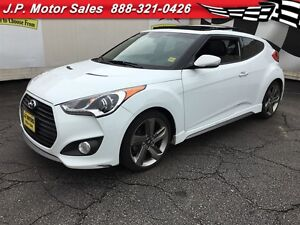 2013 Hyundai Veloster Turbo, Automatic, Navigation, Leather, Sun