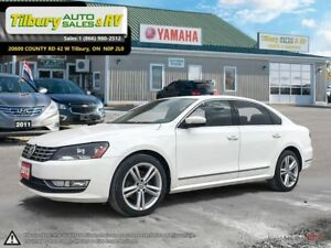 2012 Volkswagen Passat DIESEL. HEATED SEATS. TOUCH SCREEN.