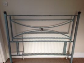 Metal head board frame - double bed