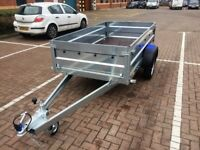 Brand new Faro Tractus 2,63cm car box trailer 750kg