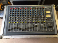 12 Channel mixer desk Desc-Tech 1202