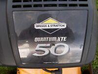 Petrol lawn mower,, Briggs and Stratton 50cc mower