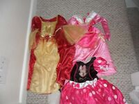 bundle of girls disney dresses