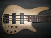 Ibanez SR605 , SR 605 , 5-String Active Bass Guitar. for sale  Portsmouth, Hampshire