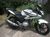 honda cbf 125, new mot, excellent engine