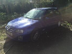 MG ZR 1400cc 54 PLATE FOR SALE