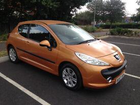Peugeot 207 Sport 1.6 petrol. Low miles 60k