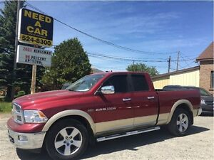 2011 Ram 1500 Laramie | NAVIGATION | LEATHER | 4X4 | 4 DOORS