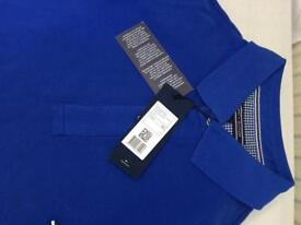 Tommy Hilfiger Short Sleeve Polo shirts Blue colour Only on sizes of M , XL and XXL